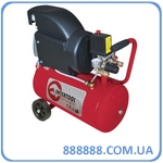 Компрессор 24л 8атм 206л/мин 220В PT-0010 Intertool 1.5кВт 2HP